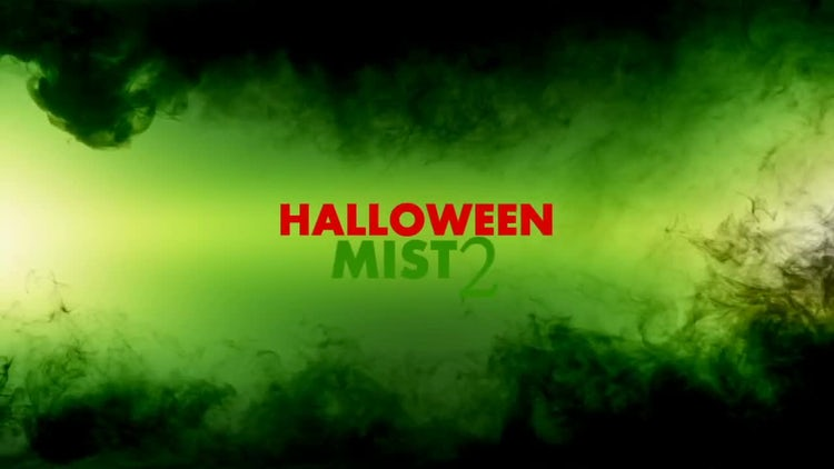 Halloween Mist 2: Stock Motion Graphics