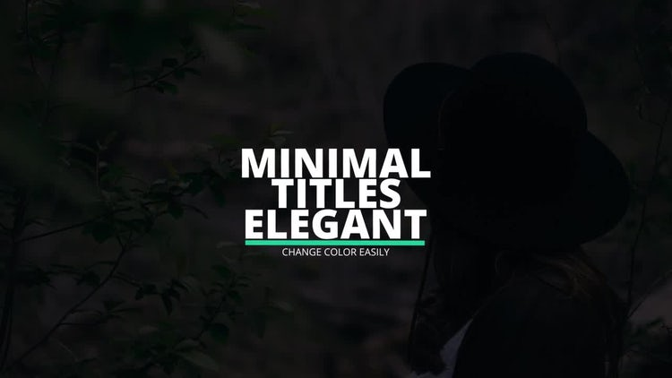 Elegant Titles: After Effects Templates