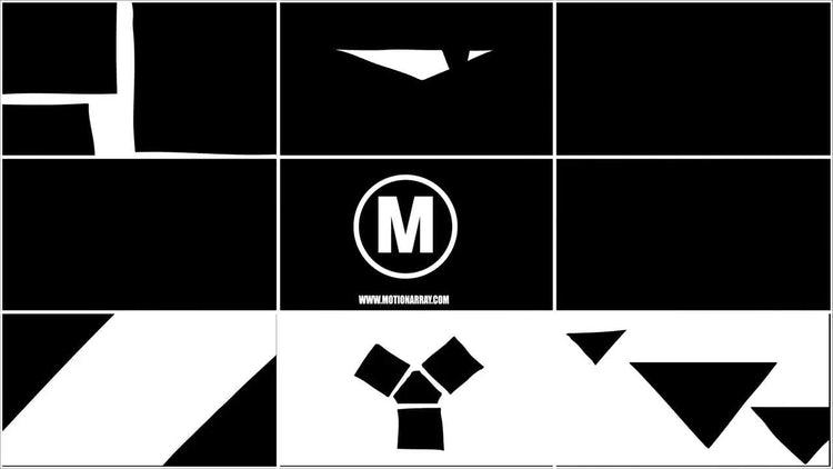 16 Blinks Transition Pack: Motion Graphics