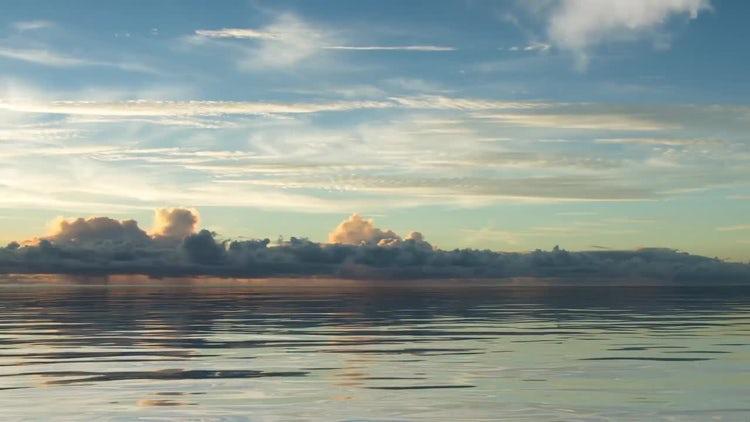 Sunrise Seascape: Motion Graphics