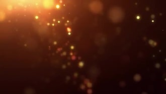 Fiery Particle Rain: Motion Graphics
