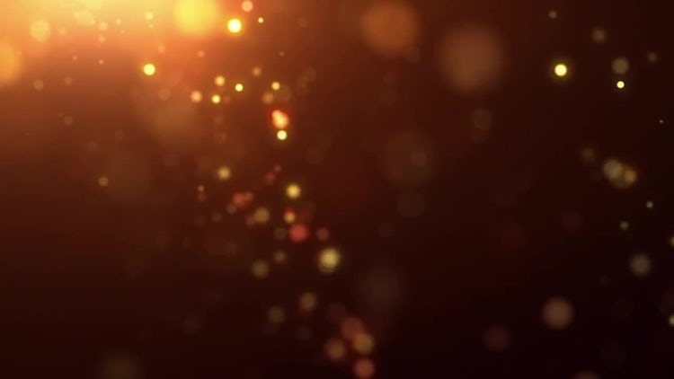 Fiery Particle Rain: Stock Motion Graphics