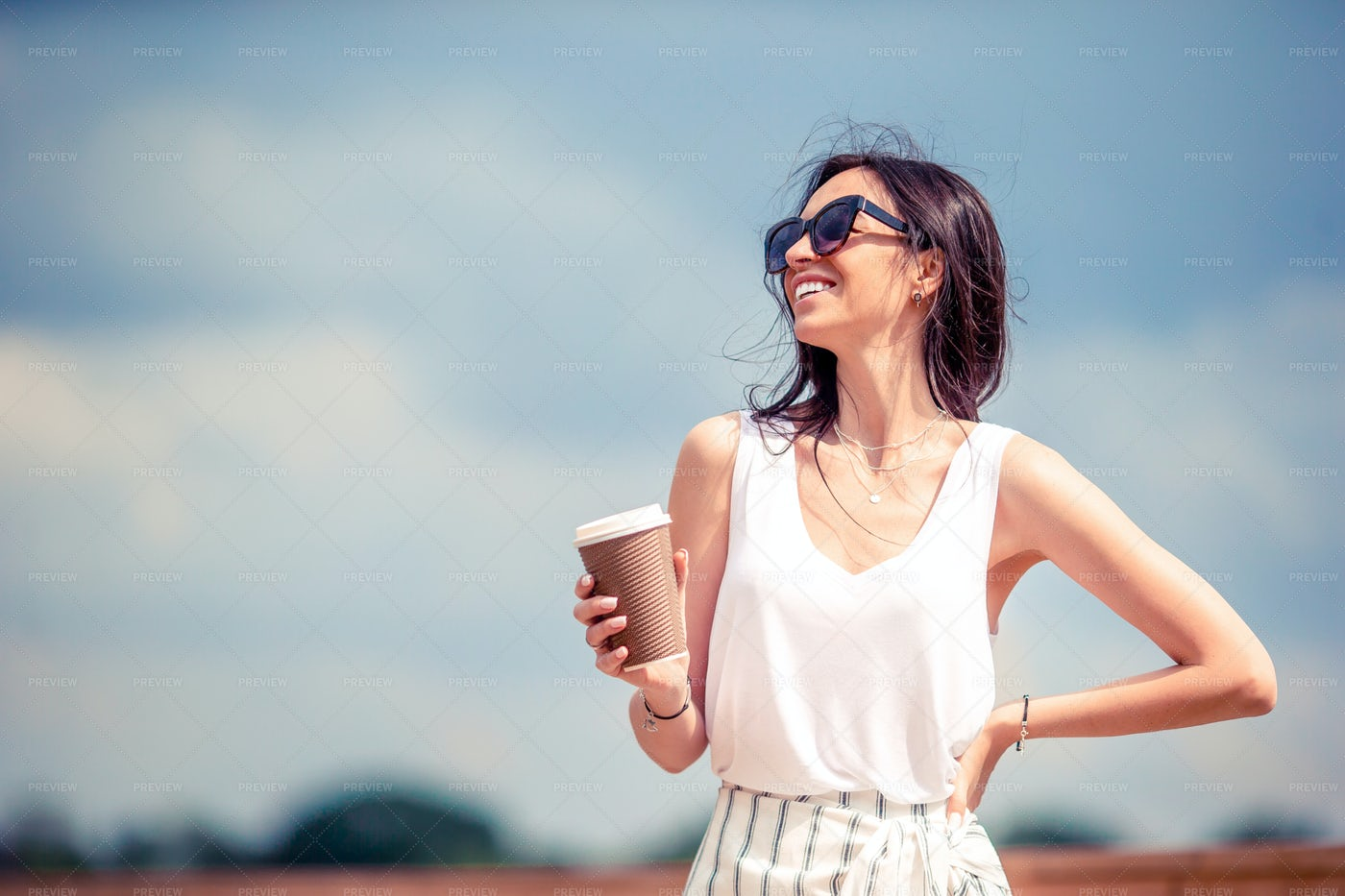 Coffee During Summer: Stock Photos