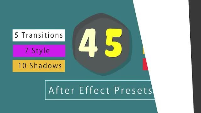 45 After Effect Presets : After Effects Presets