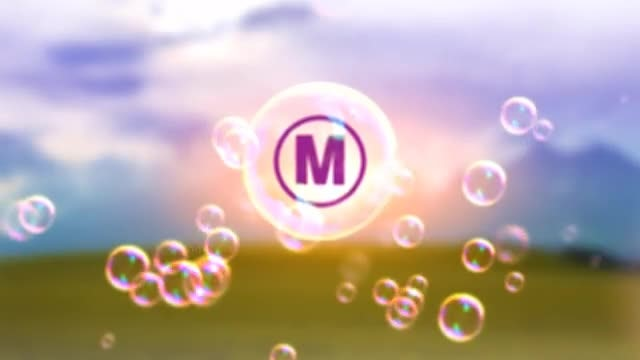 Bubbles Logo: After Effects Templates