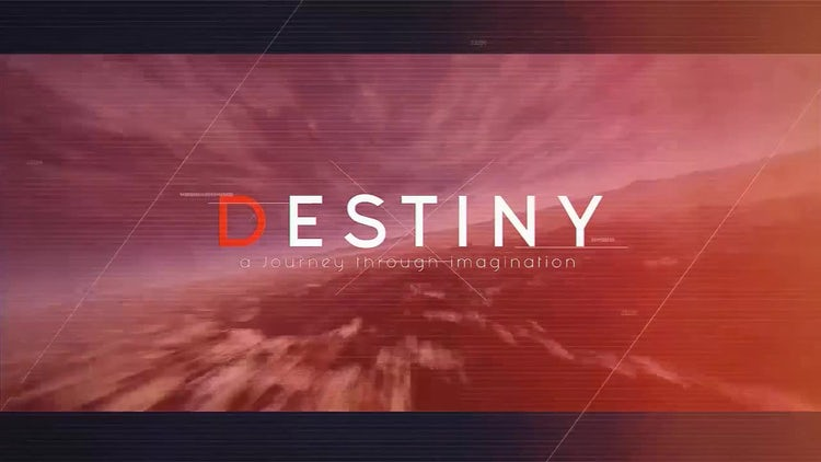 Destiny: After Effects Templates