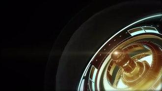 Techno Background: Motion Graphics