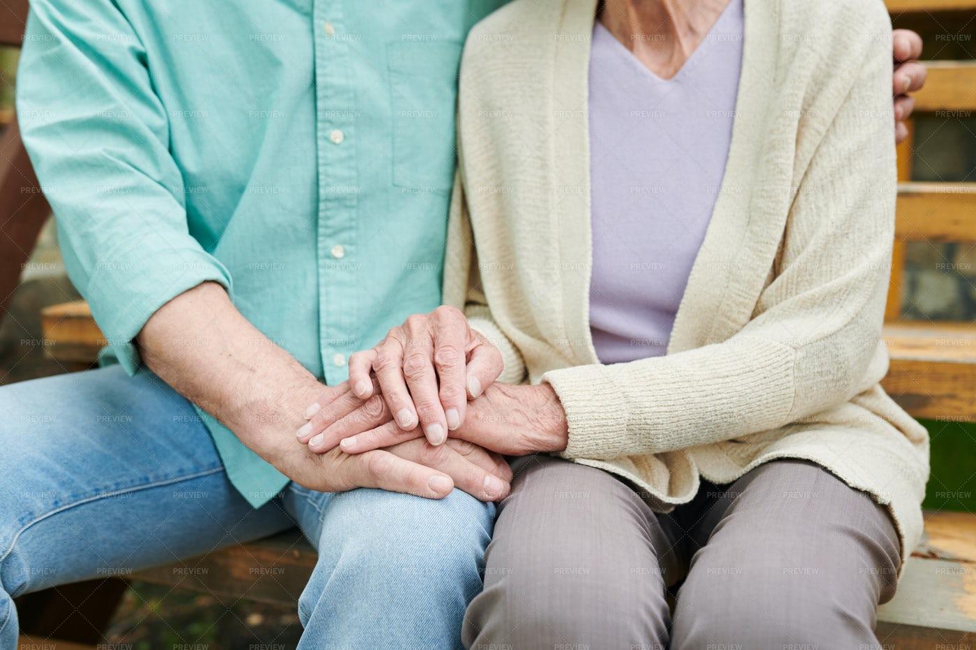 Devoted Senior Spouses: Stock Photos
