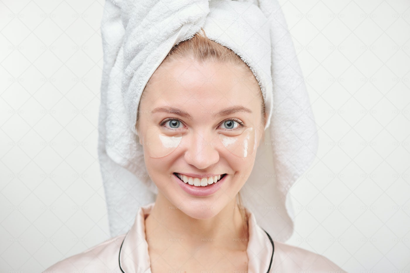 Healthy Young Woman With Toothy...: Stock Photos