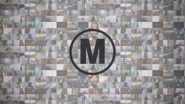 Multi Media Mosaic Logo: Premiere Pro Templates