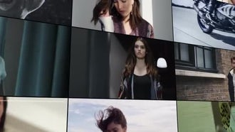 Multi Media Mosaic Logo: Premiere Pro Templates