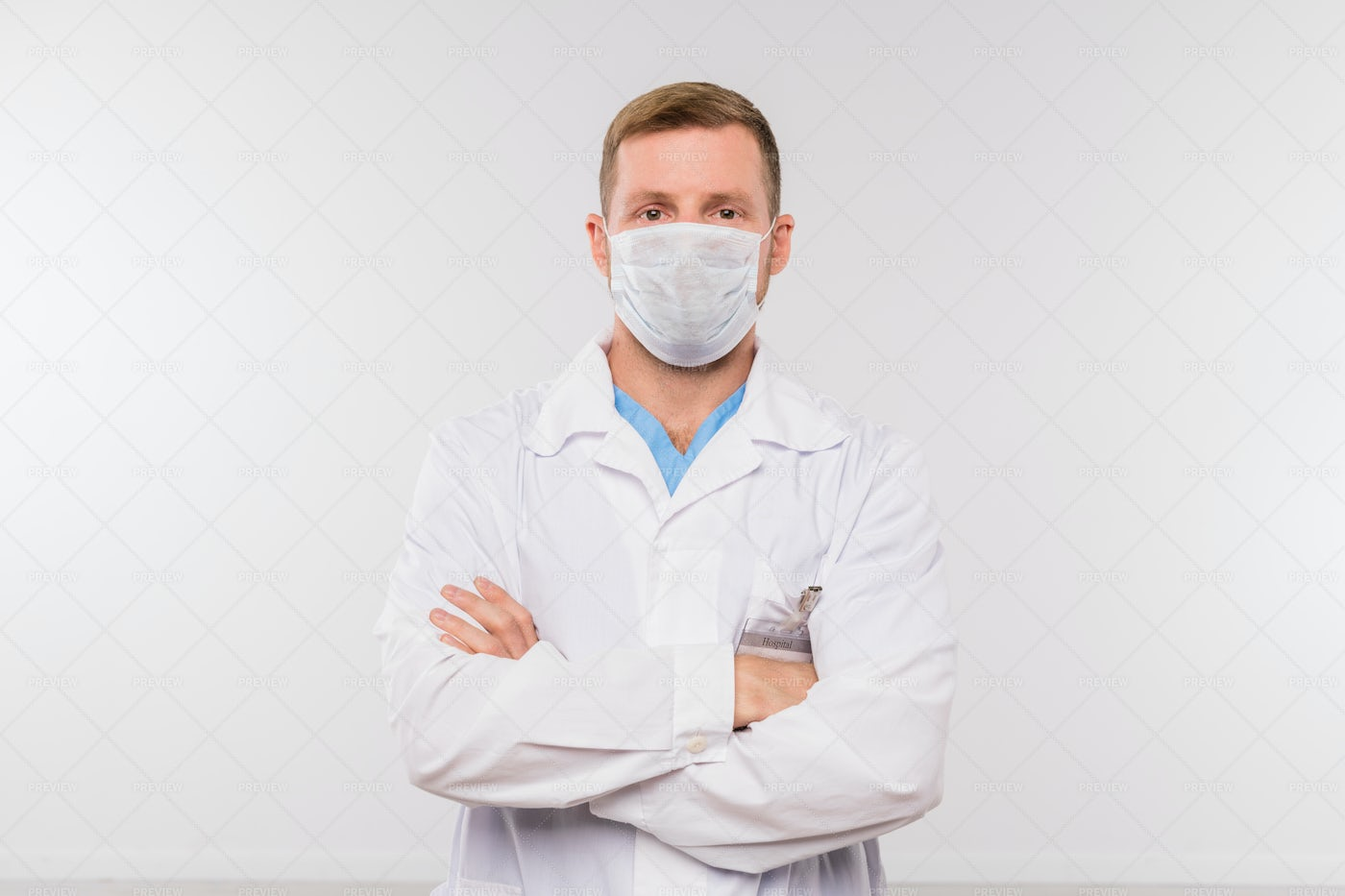 Young Doctor Or Surgeon In...: Stock Photos