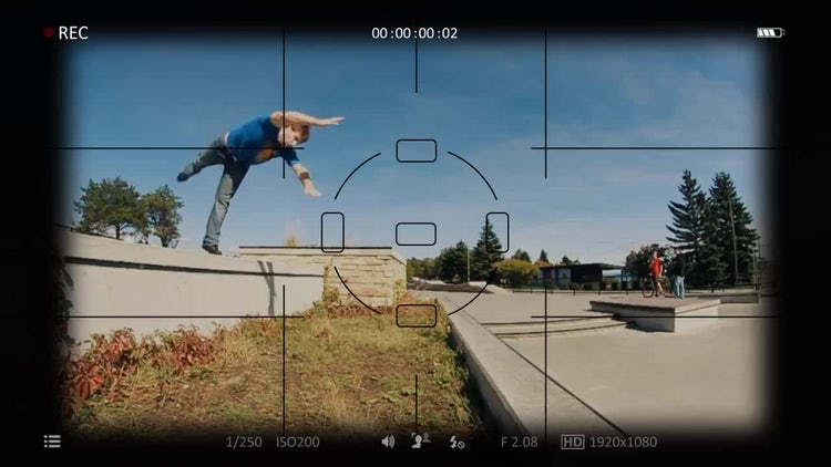 Camera View Finder: Motion Graphics