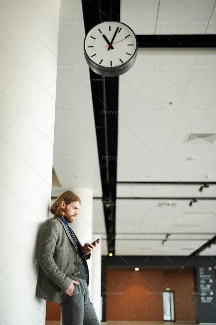 Waiting For Flight: Stock Photos
