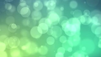 Green Particle Flow: Motion Graphics