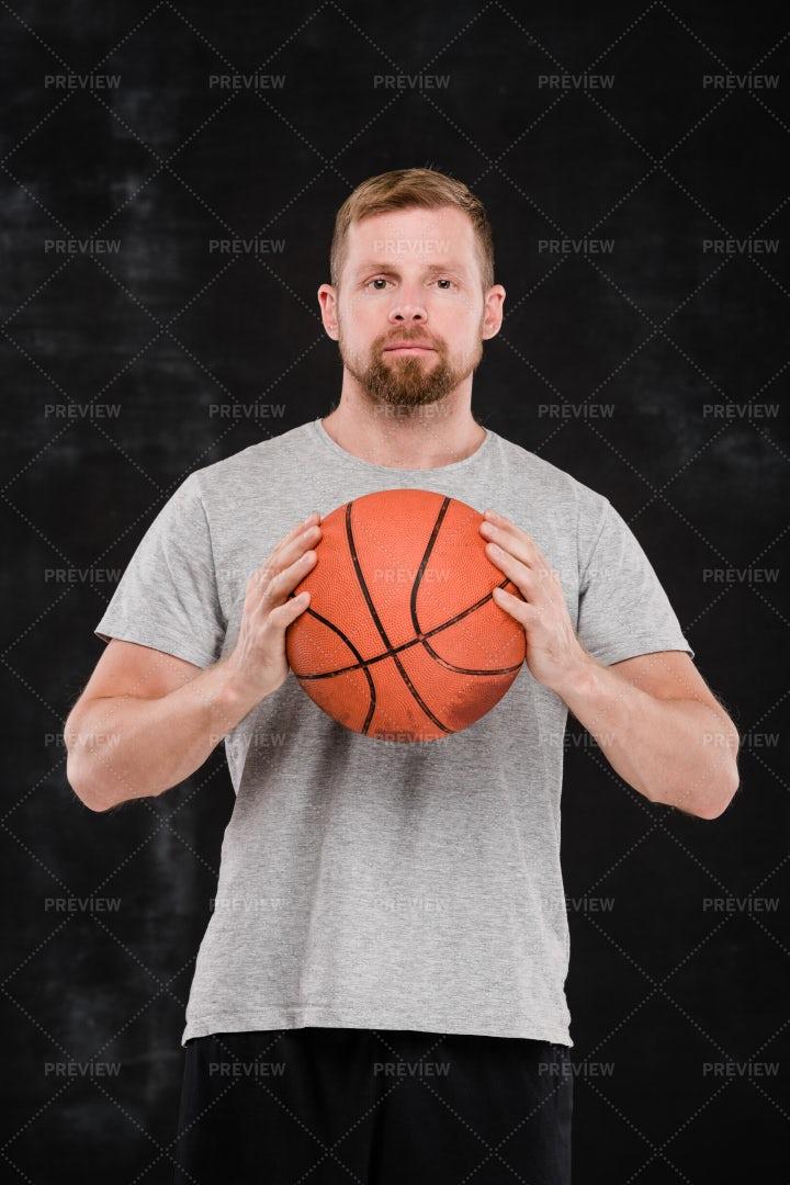 Young Successful Basketball Player...: Stock Photos