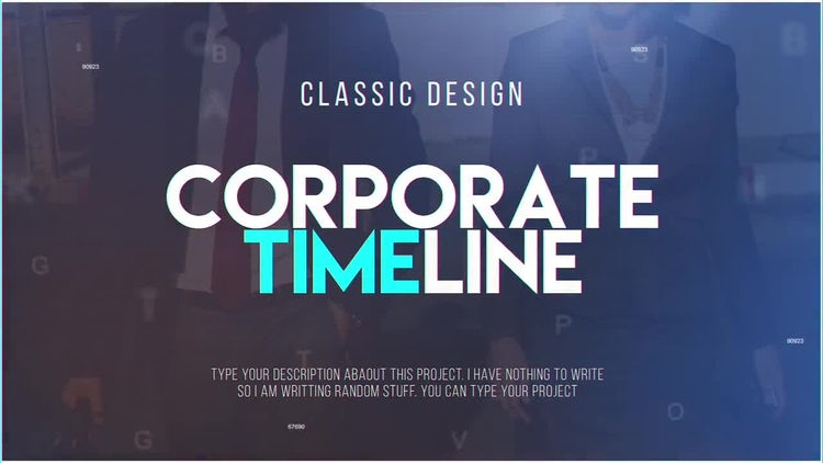 Corporate Timeline After Effects Templates Motion Array - Timeline after effects template