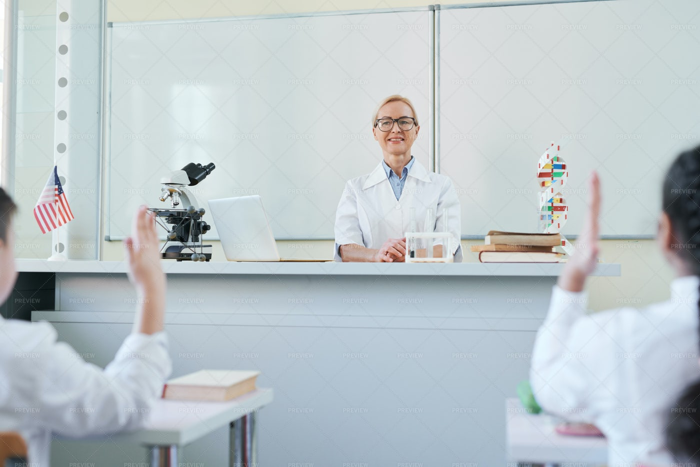 Teacher By Workplace: Stock Photos