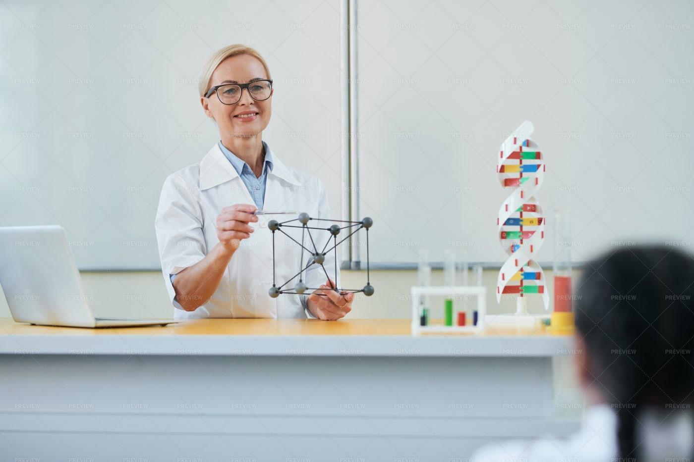Structure Of Molecule: Stock Photos