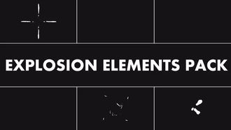 Explosion Elements Pack: Motion Graphics
