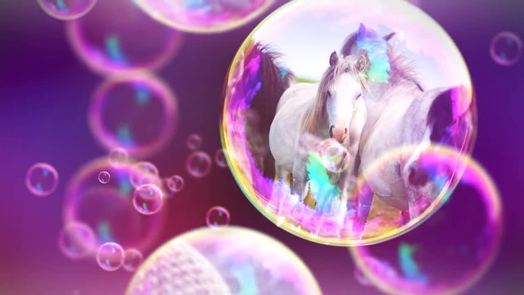 Bubbles Slideshow: After Effects Templates