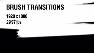 Brush Transitions Pack 1: Motion Graphics