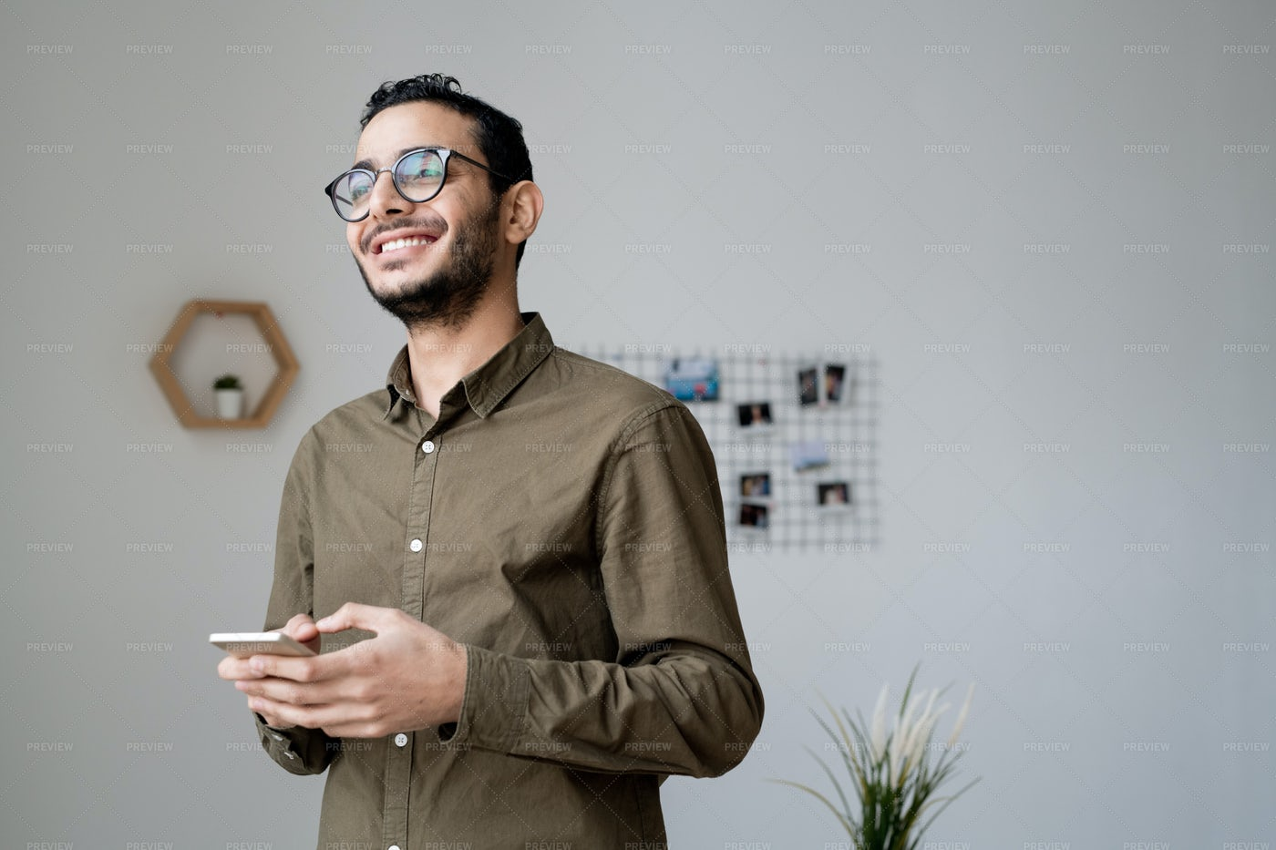 Young Cheerful Businessman In...: Stock Photos