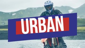 Urban Action Opener: Premiere Pro Templates