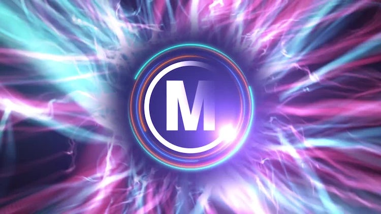Particle Energy Logo: After Effects Templates