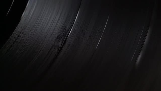 Vinyl Record Player |Turntable Background 02: Stock Video