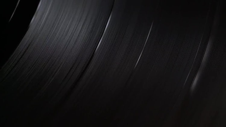 Vinyl Record Player Turntable Background 02 Stock Video