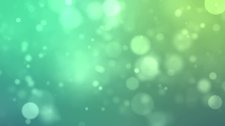 Blowing Green Particles: Stock Motion Graphics