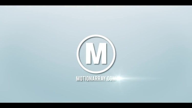Bright & Clean Particle Logo: After Effects Templates