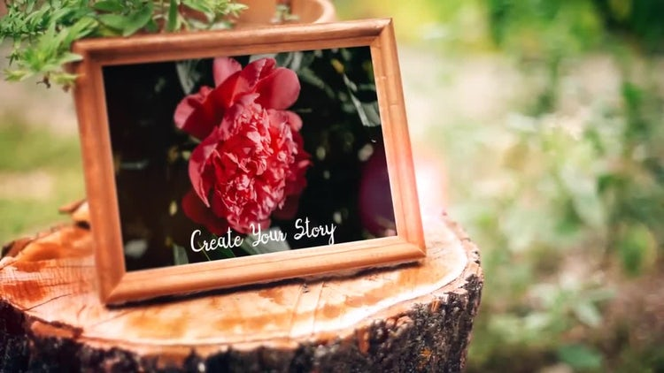 Flower Garden Slideshow: After Effects Templates