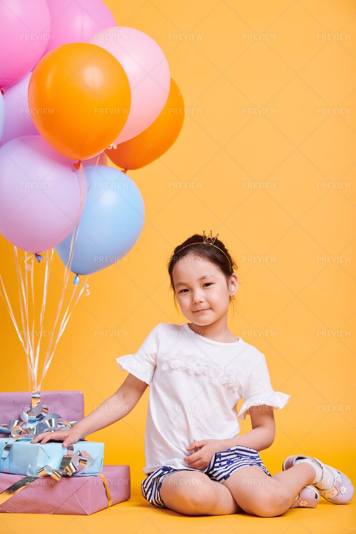 Birthday Princess: Stock Photos