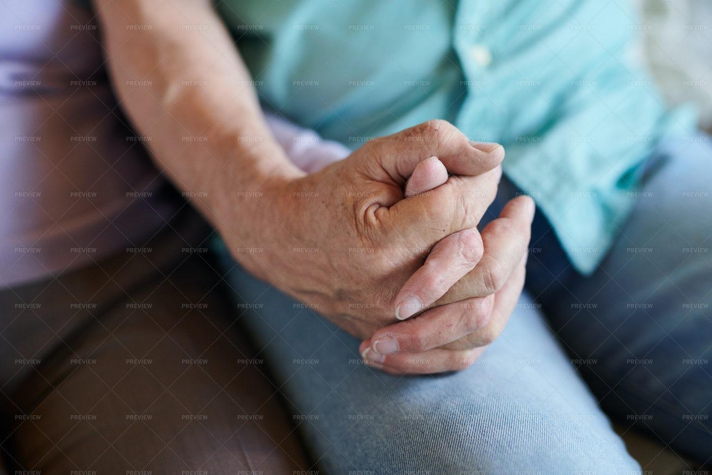 Hands Of Seniors: Stock Photos