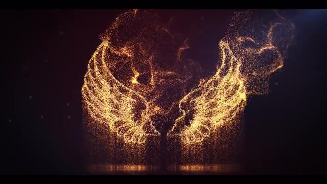 Cinematic Particle Logo: After Effects Templates