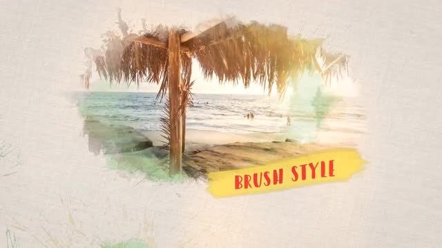 Brush Slideshow: After Effects Templates