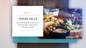 Food Display: After Effects Templates