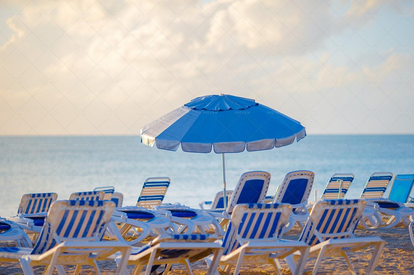 Public Beach: Stock Photos
