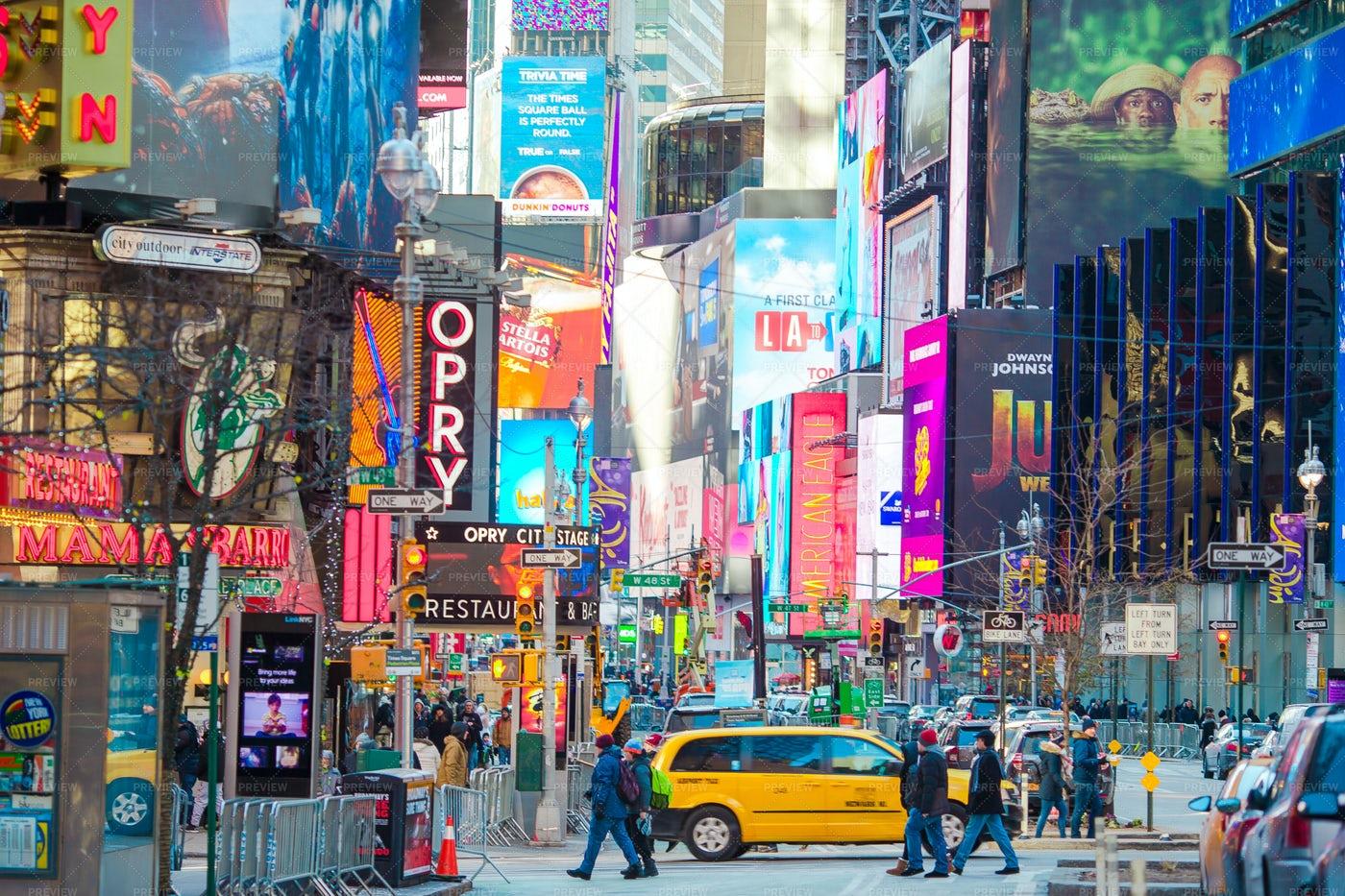 Times Square: Stock Photos