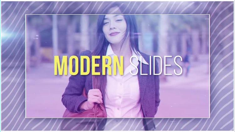 Modern Slides: After Effects Templates