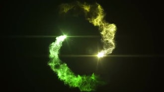 Particle Logo: After Effects Templates