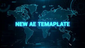 High Tech Trailer: After Effects Templates