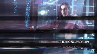 Future Strips - Slideshow: After Effects Templates