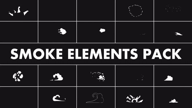 Smoke Elements Pack: Motion Graphics