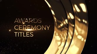Awards Ceremony Titles: After Effects Templates