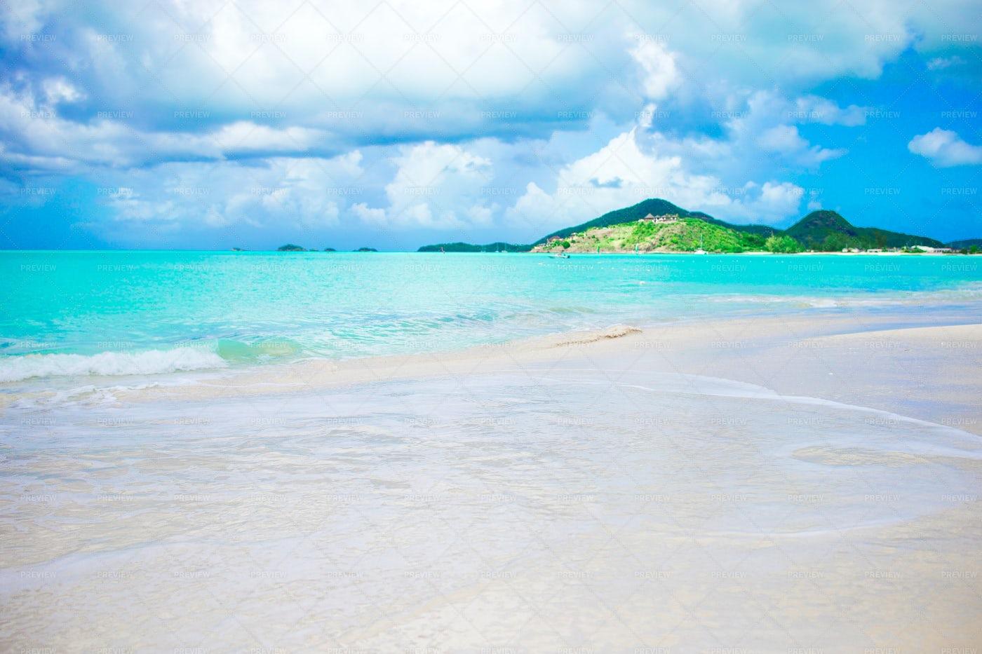 Idyllic Tropical Beach: Stock Photos