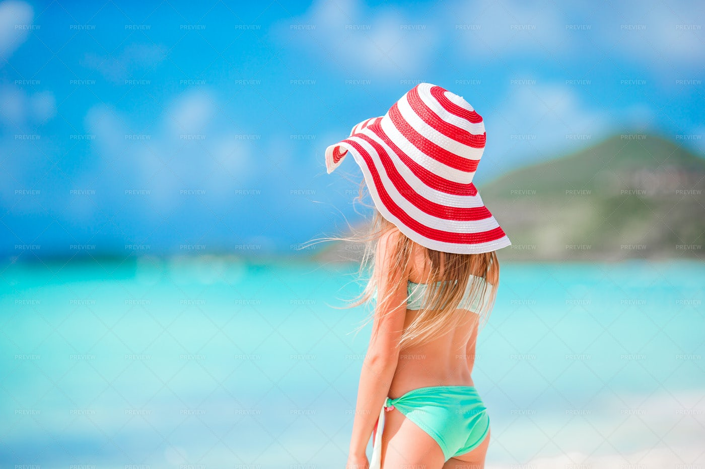 Young Girl In A Hat: Stock Photos