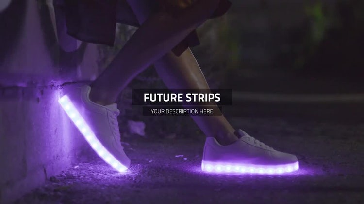 Future Strips - Premiere Slideshow: Premiere Pro Templates